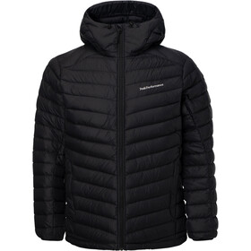 Peak Performance Frost Down Hooded Jacket Men Black